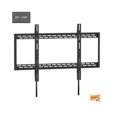 Shop TygerClaw X-Large Heavy-duty Fixed TV Wall Mount at Lowe's Canada. Find our selection of tv mounts at the lowest price guaranteed with price match. Tv Wall Mount Bracket, Wall Brackets, Wall Mounted Tv, Mount Tv, Full Motion Wall Mount, Ceiling Tv, Open Architecture, Large Tv, Flat Panel Tv