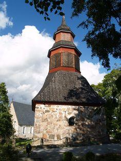 Halikon kirkko, kellotapuli