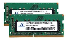 Laptop Memory Upgrade Compatible for Dell Precision 15 7000 Series 7510 DDR4 2133Mhz PC4-17000 SODIMM 2Rx8 CL15 1.2v Notebook DRAM 2x16GB Adamanta 32GB