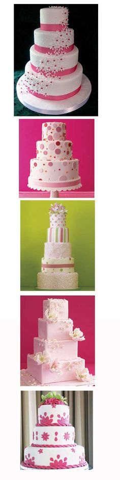 Pretty in Pink~Top 5 Pink Wedding Cakes