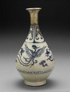 Vase  Vietnamese, Le dynasty, 15th century