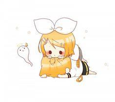 Cute Rin and Len Kagamine | Chibiz | VOCALOID