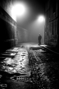 Man in the Fog, Oxford - Stephen …