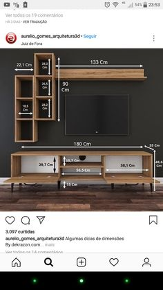 Tv Unit Furniture, Furniture Design, Wooden Main Door Design, Tv Cabinet Design, Modern Tv Wall Units, Living Room Divider, Tv Wall Decor, Tv Cabinets, Ceiling Design