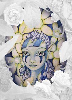 Magie-Bluemchen-Elfe