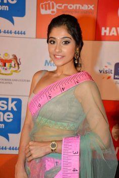 Regina Cassandra Stills Askme.Com Saree Launches, Regina Hot Navel Show | Bollywood Tamil Telugu Celebrities Photos