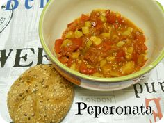 From Veggie to Vegan: Vegan Mofo - Peperonata