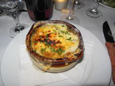 Fricassee, Montclair NJ: onion soup      http://njmonthly.com/blogs/tablehopwithRosie/2013/4/3/restaurant-news.html#read_more