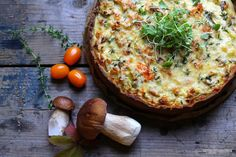 *recipe and photo by Sari Mattsson*   porcini pie
