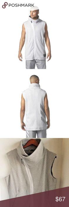 2836c039d212 adidas Harden Mens Sleeveless Grey Basketball Vest adidas Harden Mens  Sleeveless Grey Basketball Vest CF1091 Size