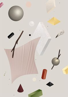Still Life by Mark Niemeijer, via Behance