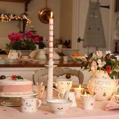 CHRISTMAS TABLE SETTINGS | Holly Small Bowl | Susie Watson Designs