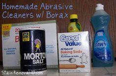 homemade abrasive cleaner