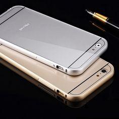 Luxe Aluminium PC Voor iPhone 5c Metalen Frame Acryl Kleurrijke Goud Aluminium Shockproof Fundas Coque Voor iPhone 5 C