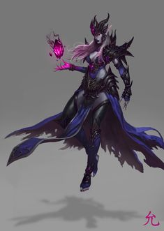 ArtStation - Dark Elves, Yunchan Choi