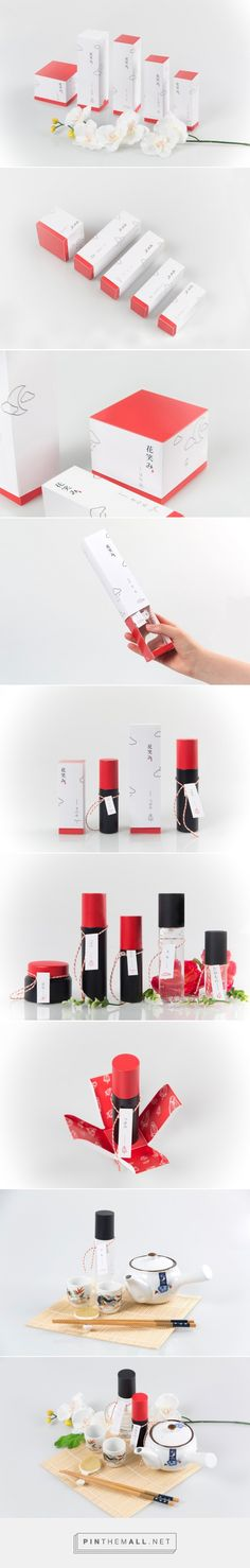 Hanaemi Cosmetics packaging design concept by Hyun Yun, HaeChan Jung, YeonHee Choi (Korea) - http://www.packagingoftheworld.com/2016/06/hanaemi-cosmetics-student-project.html