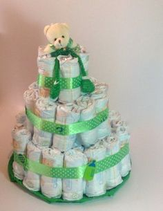 tarta verde oso
