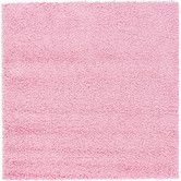 Found it at AllModern - Solo Light Pink Area Rug