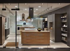 Kitchen Architecture's bulthaup showroom in Oxford #bulthaup #kitchens
