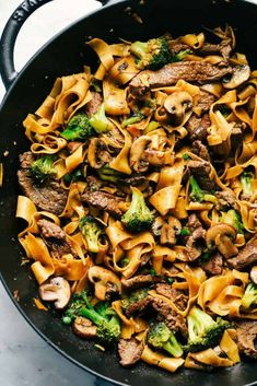 Garlic Beef and Broccoli Noodles   The Recipe Critic