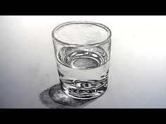 How to Draw a Glass of Water: Narrated Step by Step - YouTube