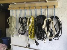 Idea for cord hanging