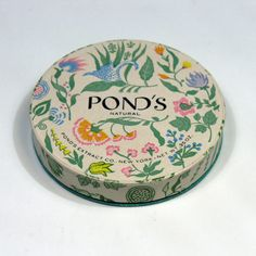 pond's pretty vintage packaging