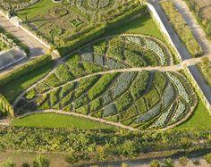 Garden of abundance of la Chatonnière #France, #GardenArt, #Vegetables