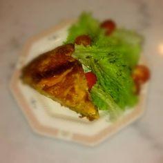 Yubaba Cafe Bistro. G. Olympiou 2, Koukaki. Τάρτα Γιουμπάμπα. Κολοκύθι,πράσο,πικάντικη γραβιέρα,φέτα & λιαστή ντομάτα.