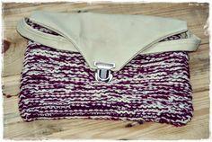 VillaNanna: Neulottu käsilaukku