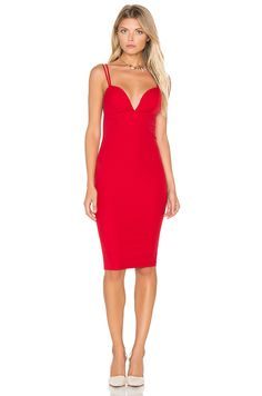 tiger Mist Worth It Midi Dress in Red | REVOLVE