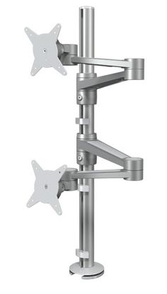 Dataflex 58.142 Dual Monitor Arm - Product Page: http://www.genesys-uk.com/Ergonomic-Products/Monitor-Arms/Dataflex-58.142-Dual-Monitor-Arm-Double-Monitor-Arm.Html  Genesys Office Furniture - Home Page: http://www.genesys-uk.com  The Dataflex 58.142 ViewLite Dual Monitor Arm is a flexible solution for double monitor applications.  The design enables dual monitors to be mounted either horizontally or vertically, according to requirements.