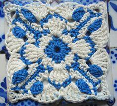 Aveiro Square (Crochet) -- Tutorial