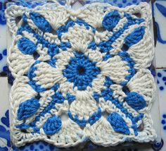 Aveiro Square (Crochet) -- Tutorial