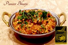 Paneer Bhurji ~ Fresh homemade cheese cooked lightly in a rich cream sauce at the Original Tandoori Kitchens Best Butter, Indian Food Recipes, Ethnic Recipes, Homemade Cheese, Butter Chicken, Curry, Kitchens, Fresh, The Originals