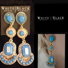 White House Black Market Earrings New. Please always ask before purchase on my closet. MAKE AN OFFER  NO PAYPAL  NO TRADES  White House Black Market Jewelry Earrings