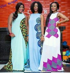 Plain and Patterned ankara styles - Od9jastyles | The Best Place for Latest Ankara and Asoebi Styles