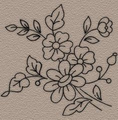 Embroidery Designs Religious Crosses Embroidery Patterns For Pillowcases Mexican Embroidery, Hand Embroidery Patterns, Ribbon Embroidery, Cross Stitch Embroidery, Machine Embroidery, Motif Floral, Fabric Painting, Flower Patterns, Needlework