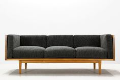 Modern Chairs チーク無垢北欧スタイルトリプルソファ リビングIKEAACTUSunico インテリア 雑貨 家具 ¥1yen 〆11月13日