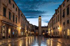The Dubrovnik Stradun - Croatia