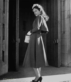 1940s-College-Style - fly away jacket - Madeline Balcar