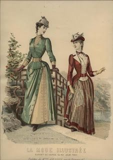 Time Traveling in Costume: 1888-1889 The Revival of the Directoire Style & The End of the Bustle