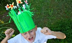 Make An Easter Garden Easter Hat | Easter Hat Parade | Easter Hat Ideas | Easter