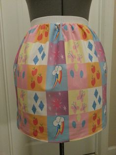 My Little Pony full skirt  made to order by NerdAlertCreations, $45.00