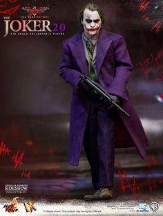 Figura Batman: The Dark Knight. The Joker Movie Masterpiece DX 2.0, 30cm . Sideshow Collectibles