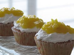 Pineapple Rum Cupcakes