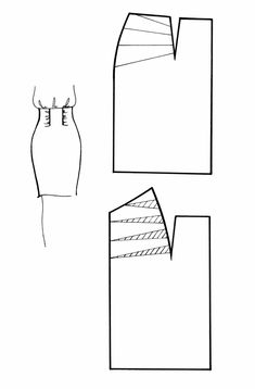 Sewing Paterns, Skirt Patterns Sewing, Clothing Patterns, Sewing Hacks, Sewing Tutorials, Sewing Collars, Dress Making Patterns, Pattern Cutting, Pattern Drafting