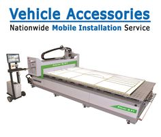 Our CNC Machine is the Biesse Klever CNC Router.  View our blog post about are CNC Machine. https://www.vehicle-accessories.net/blog/Vehicle-Accessories-Blog/2014/05/21-All-About-Our-CNC-Machine