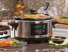 The Hamilton Beach Slow Cooker is a truly set and forget slow cooking solution that can transform even the worst cook into someone who can cook great family meals. Best Rice Cooker, Best Slow Cooker, Hamilton Beach Crock Pot, 6 Quart Slow Cooker, Burnt Food, Kitchen Gifts, No Cook Meals, Cooking Time, Cooking Tools