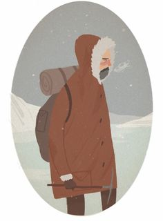 Detail from new project. Looking at explorers who died on there journeys.